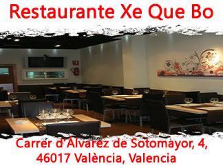 Restaurante  xe que bo Valencia