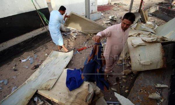 Al menos 8 muertos y 10 heridos por un atentado suicida al oeste de Bagdad