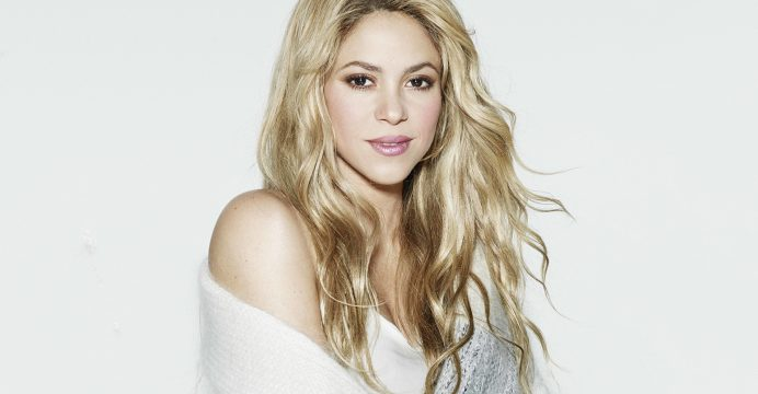 BARCELONA, SPAIN - OCTOBER 15: (EXCLUSIVE COVERAGE) Shakira poses for a portrait on October 15, 2014 ahead of the launch for her new fragance 'Paradise Elixir by Shakira' on April 24, 2015 in Barcelona, Spain. (Photo by Europa Press/Europa Press via Getty Images)