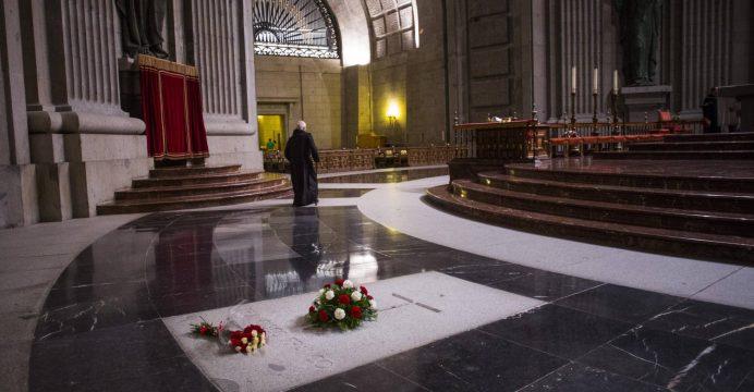 La tumba de Franco
