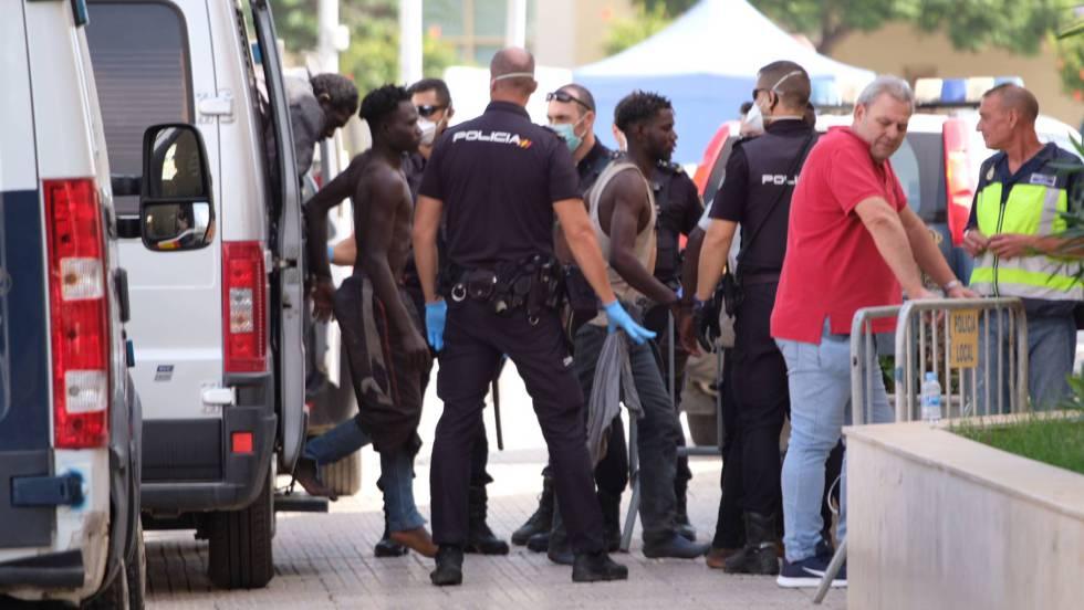 migrante muerto en Melilla