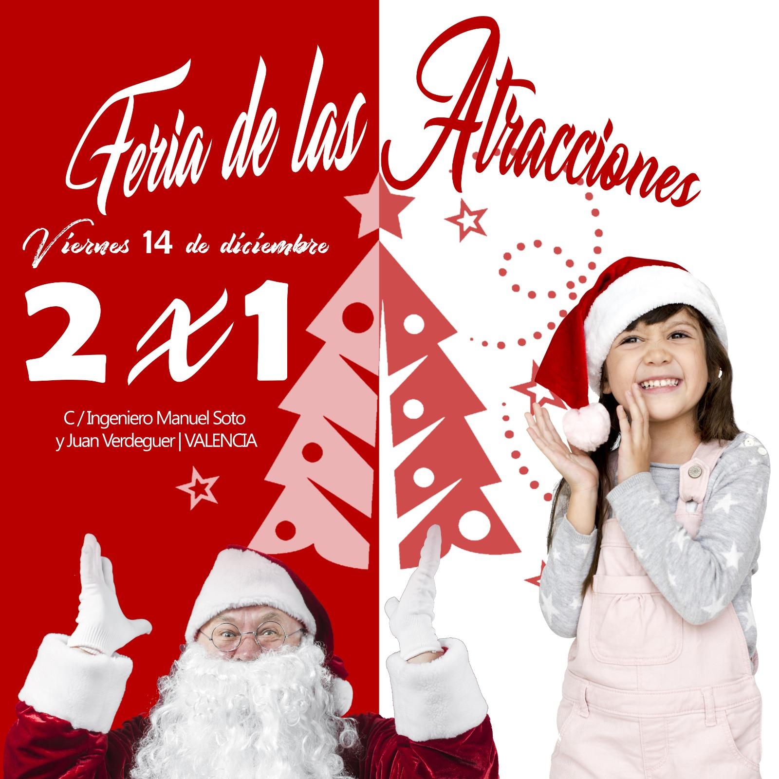 Feria de Navidad en Valencia