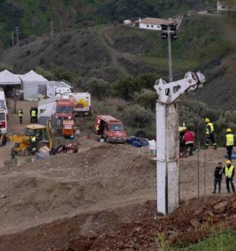 La búsqueda de Julen en el pozo de Totalán en Málaga