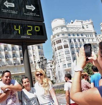 Calor en Valencia
