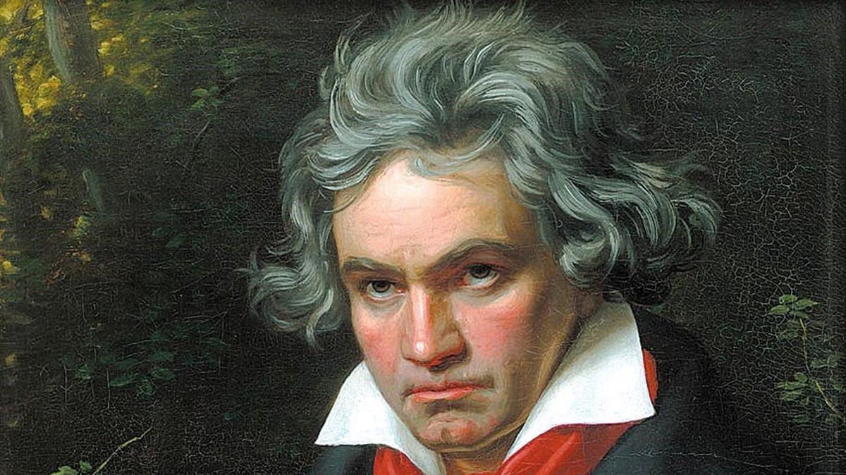 Subastan un mechón de pelo de Beethoven