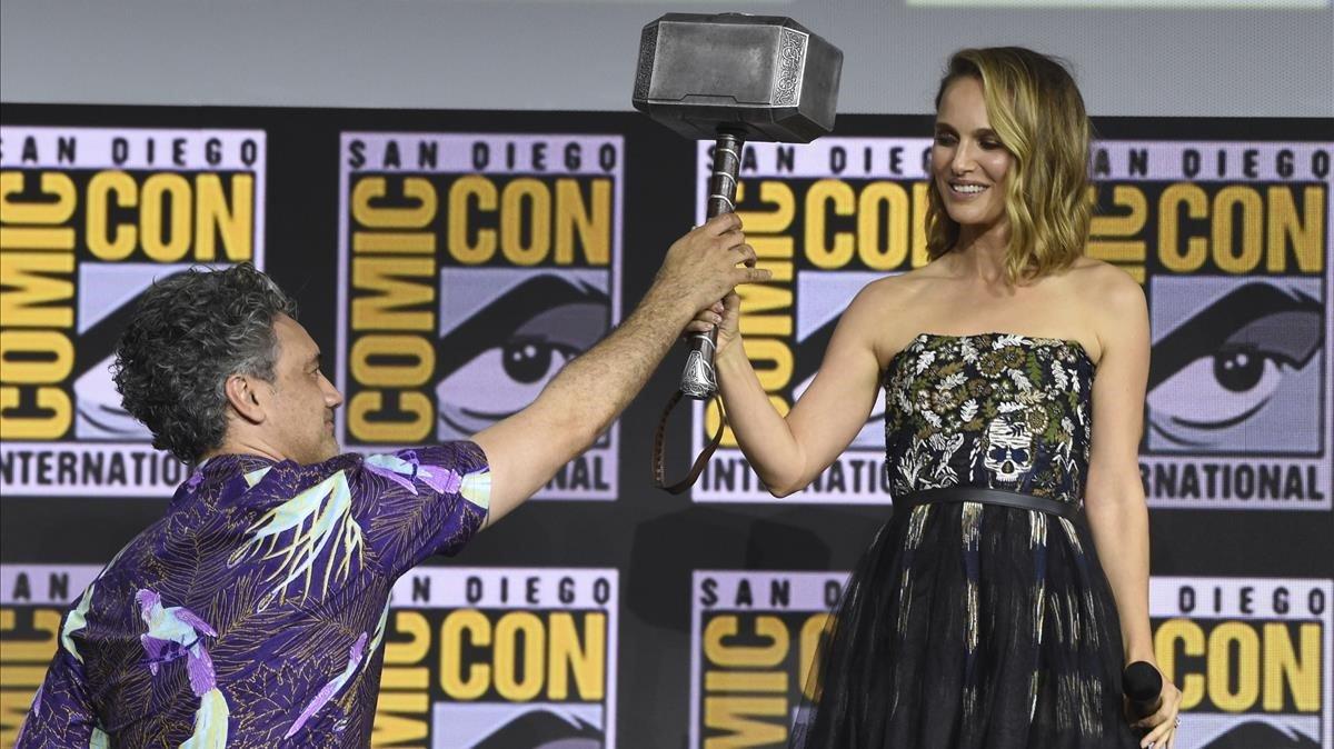 Natalie Portman será la primera Thor mujer