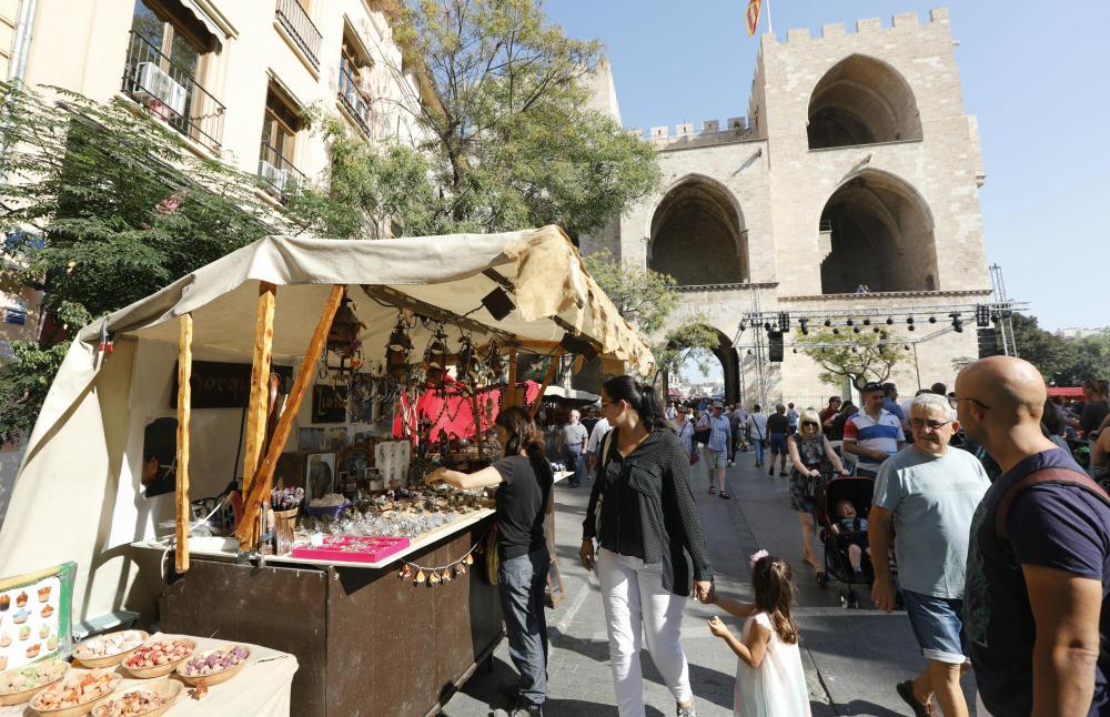 Mercado medieval en Valencia