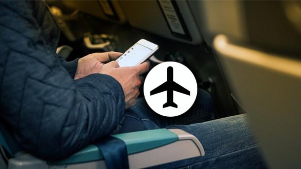 Modo Avion en los vuelos