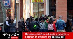 Mercadona toma medidas frente al Coronavirus