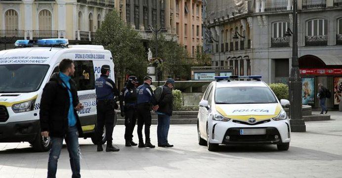 Multas en Valencia por confinamiento