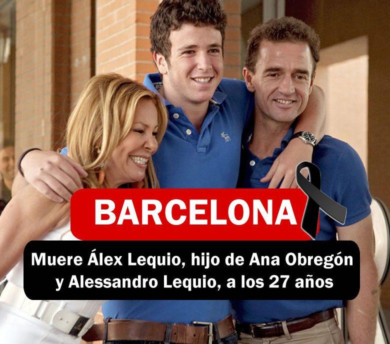 Muere en Barcelona Alex Lequio..