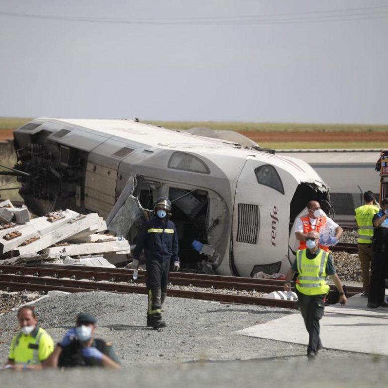 Accidente de tren en España deja 2 muertos