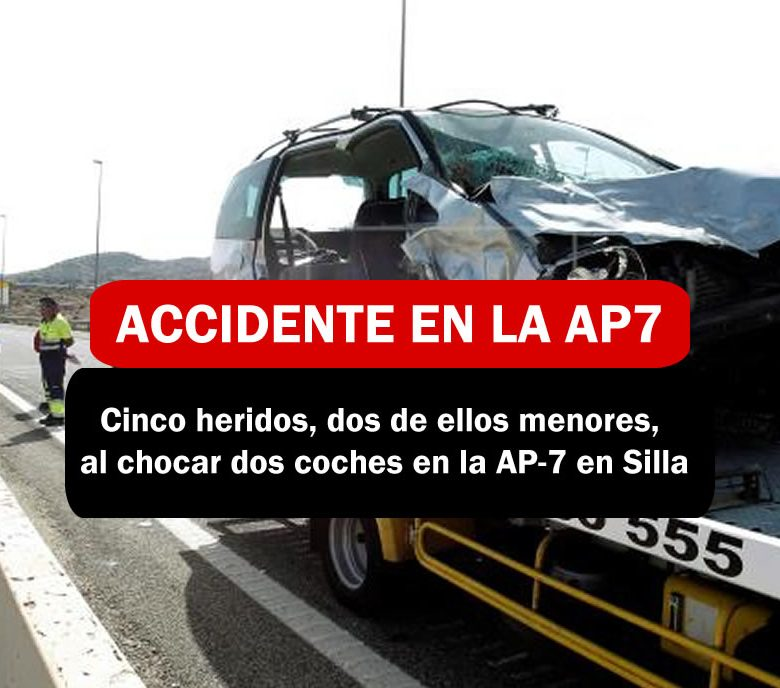 Accidente en la AP7 EN SILLA