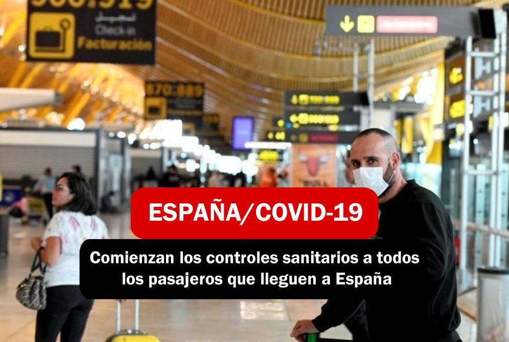 Controles en España por Covid-19