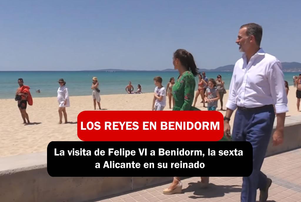Los reyes visitan Benidorm