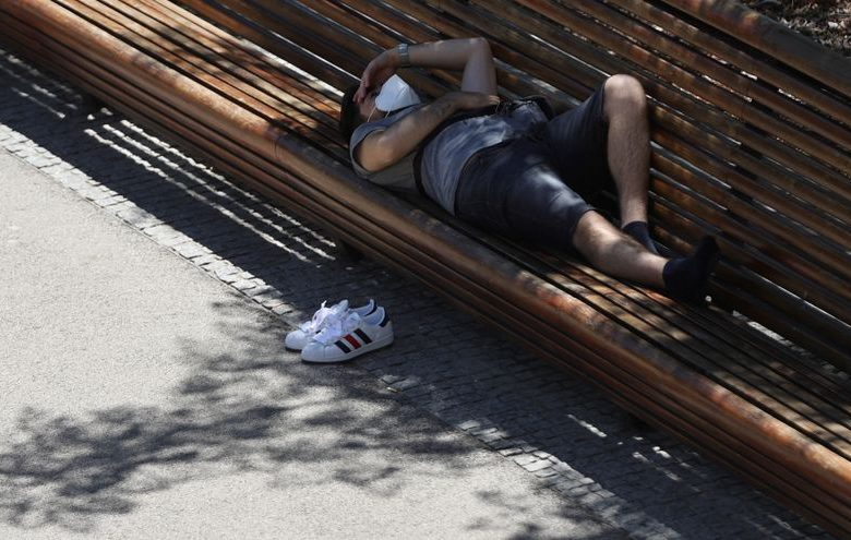 intenso calor en España