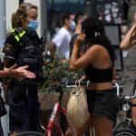 multas por mascarillas al aire libre