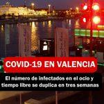 COVID 19 AUMENTA POR EL OCIO NOCTURNO EN VALENCIA