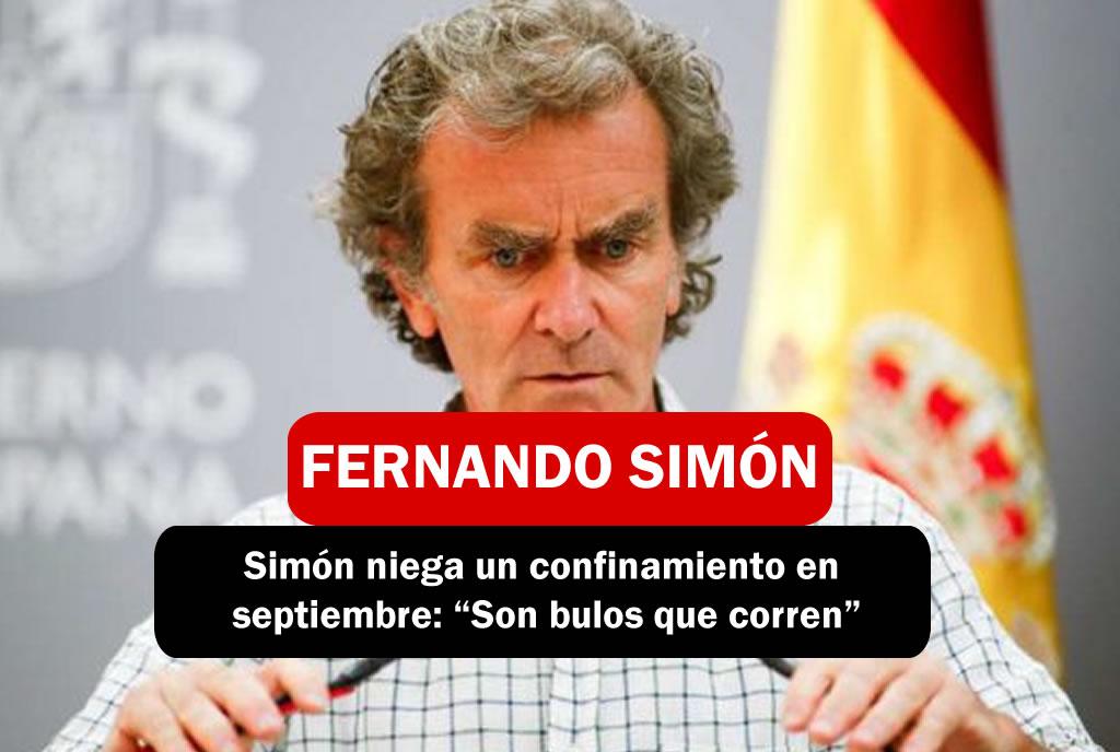 FERNANDO SIMÓN NIEGA SEGUNDO CONFINAMIENTO