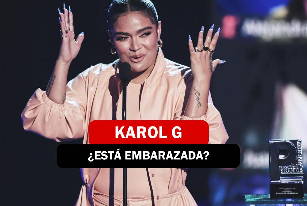 Karol G esta embarazada