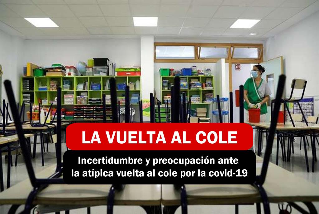 La vuelta al cole en la comunidad valenciana