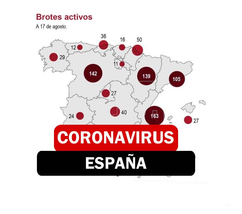 REBROTES EN ESPAÑA AUMENTAN