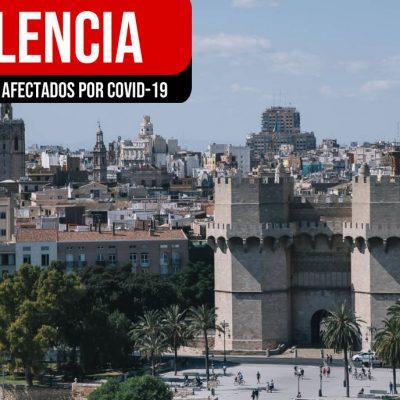 Barrios con más Covid19 en Valencia