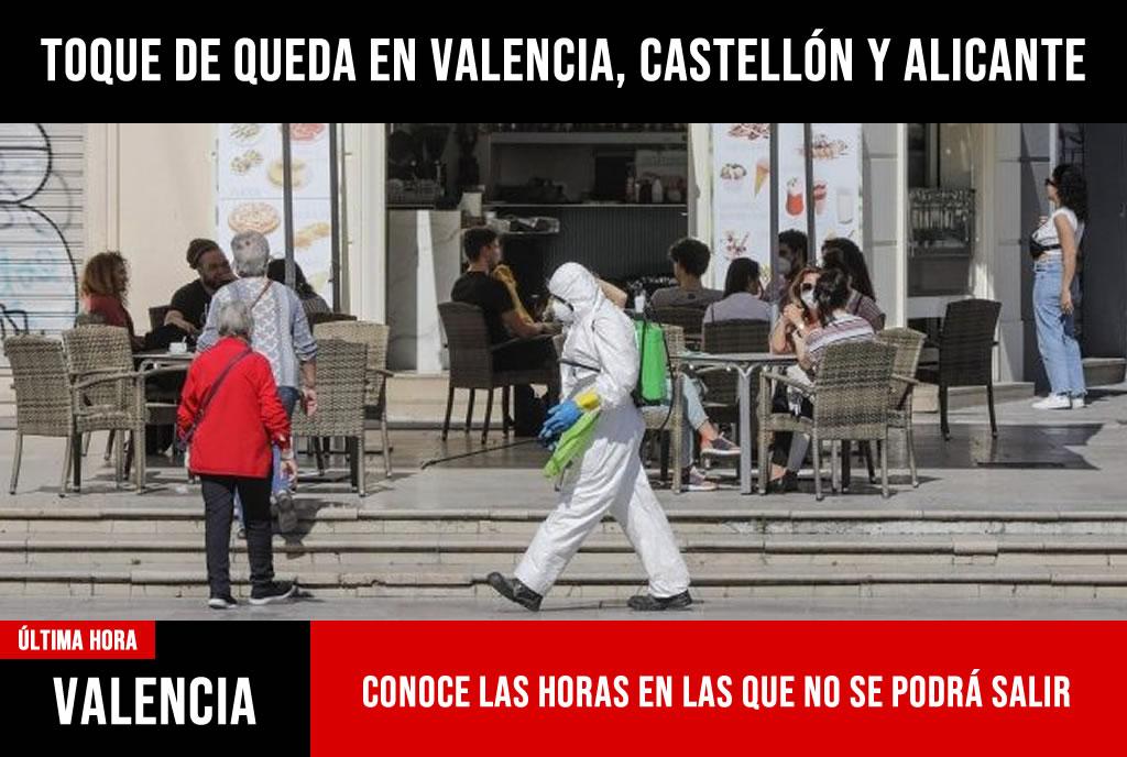 Toque de queda en Valencia