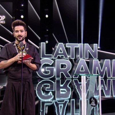 Camilo y su primer Grammy Latino