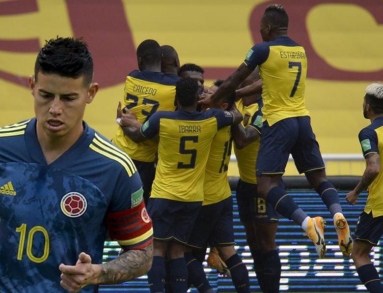 Ecuador Goleo a Colombia