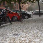 Lluvia con Granizo en Valencia