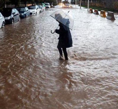 Lluvias en Valencia