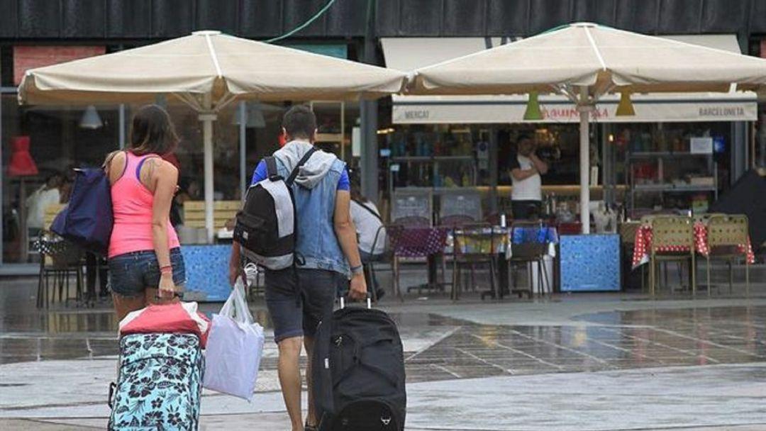 turismo se desploma