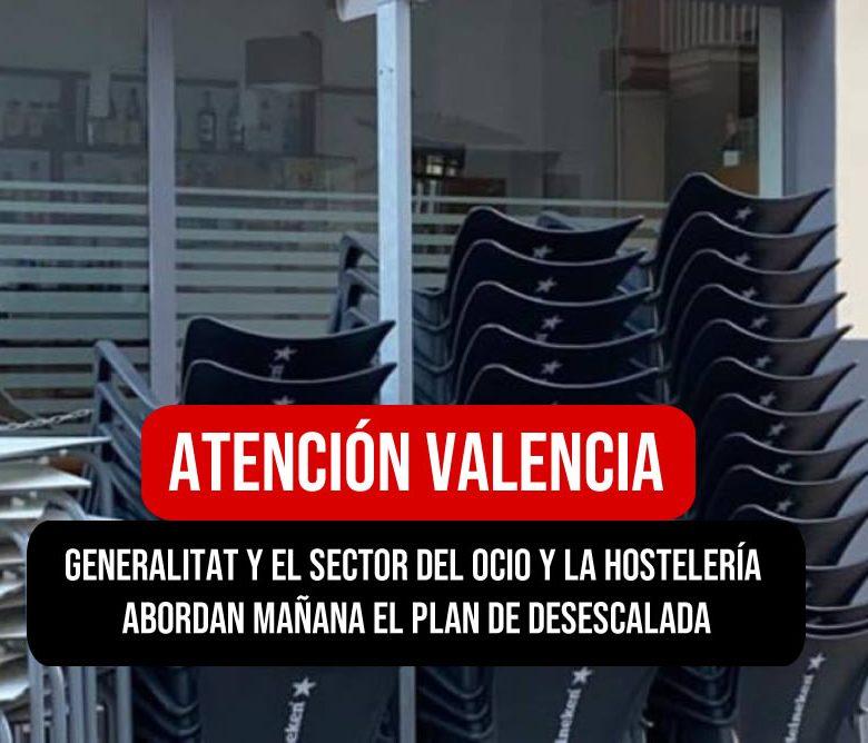 Desescalada en el ocio y hosteleria en la comunidad valenciana