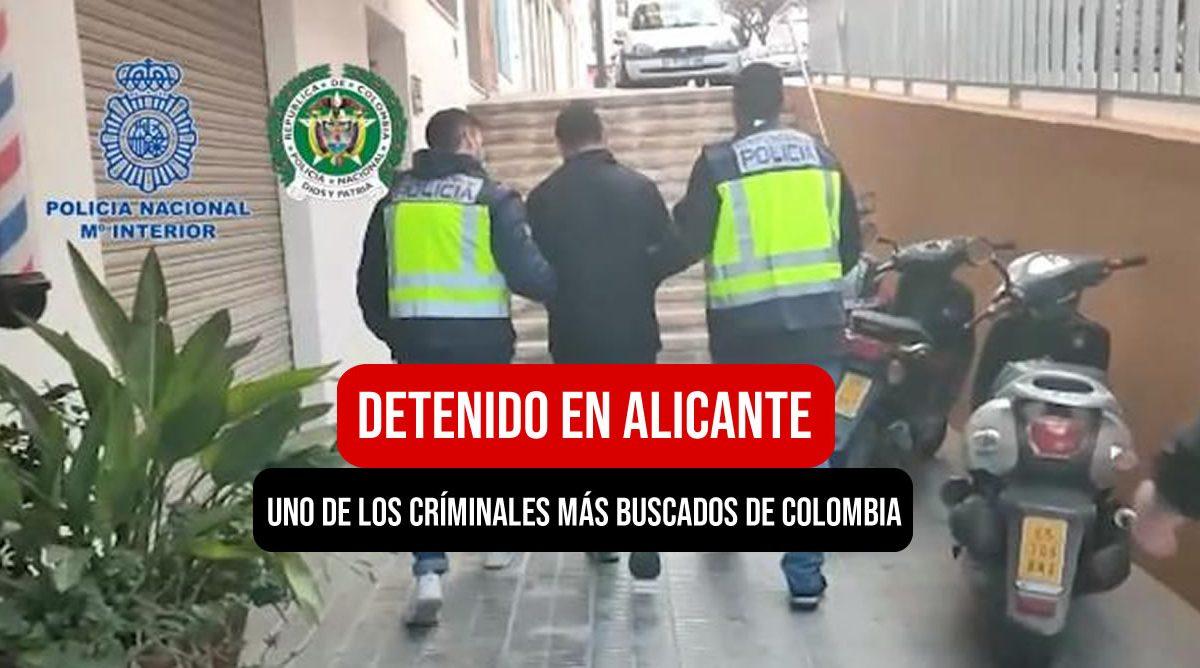 detenido en Alicante España el zarco