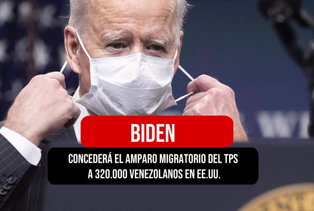 Biden a Venezuela