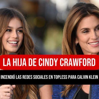 La hija de Cindy Crawford