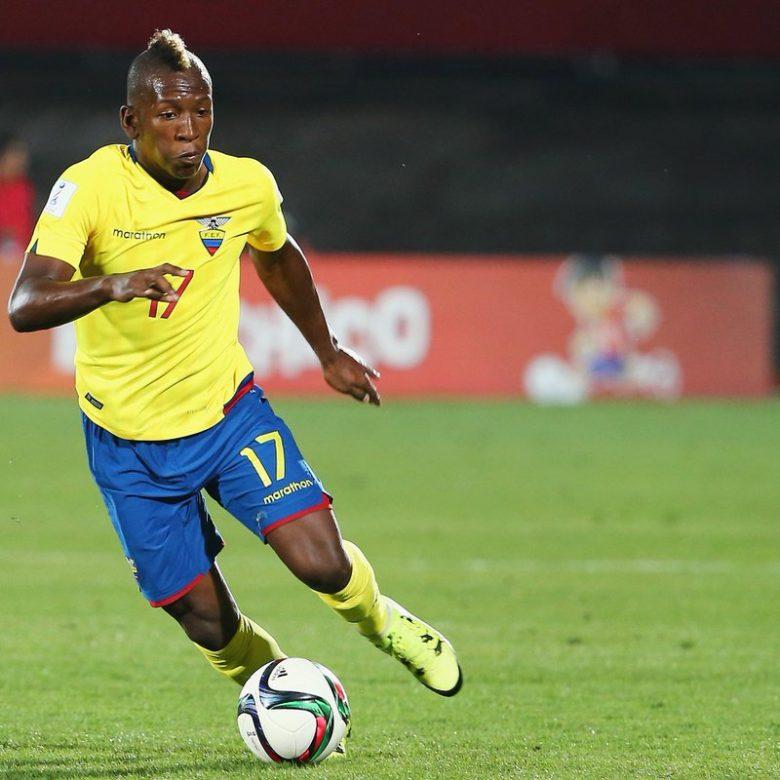 Pervis Estupiñán seleccion de futbol Ecuador