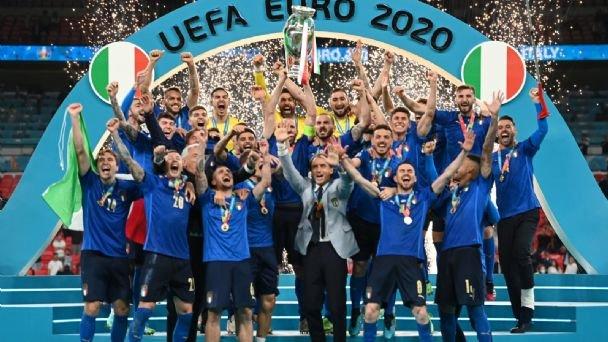 Italia campeona de Europa 2021