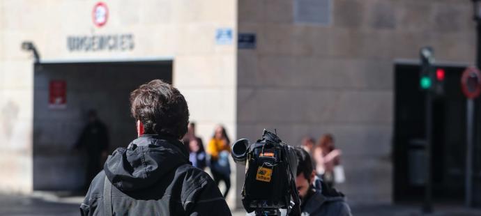 Primer caso en València un periodista que fue a Milán con el Valencia CF