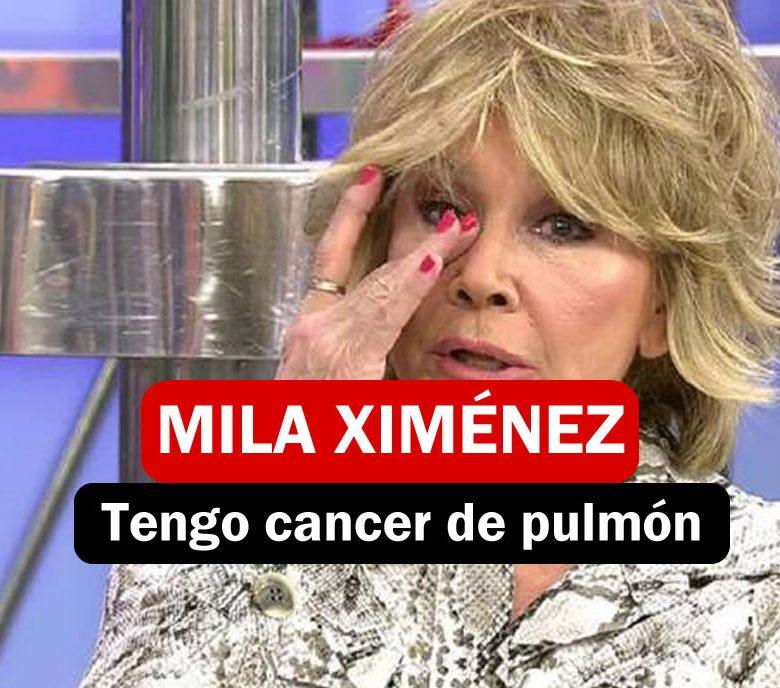 Mila Ximénez tiene cancer de Pulmón