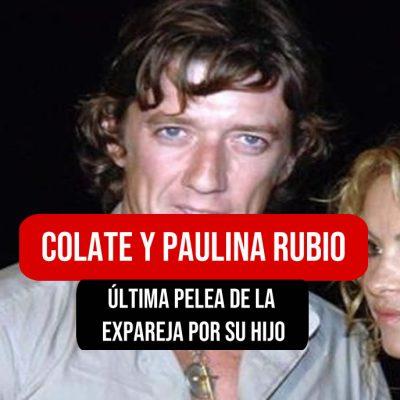 Colate y Paulina Rubio
