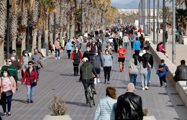 Valencia confinada