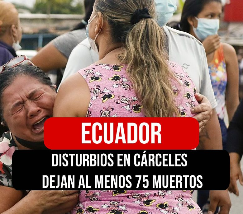 muertos en carceles de ecuador