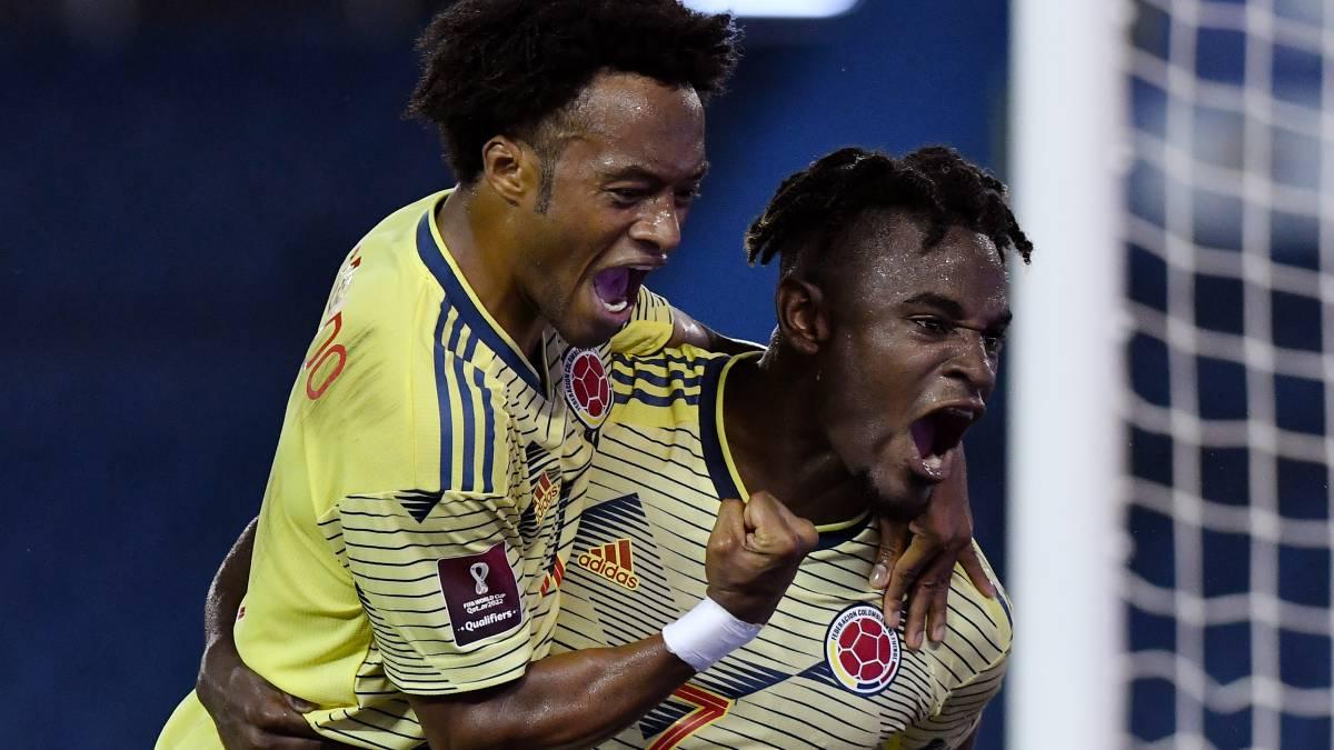 Colombia Golea a Peru
