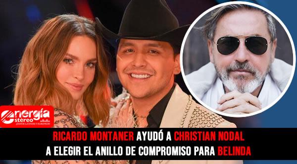 Cristian Nodal y Belinda se van a casar