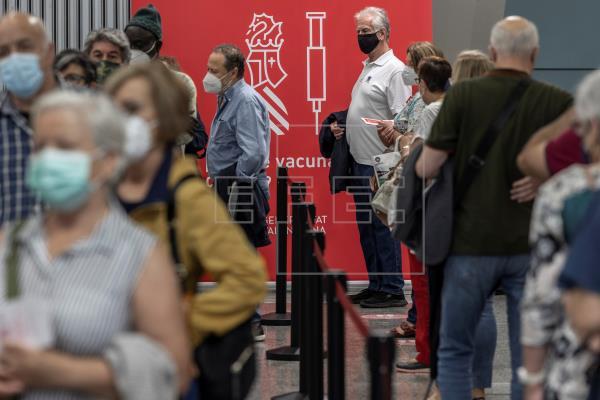 La Comunitat Valenciana prevé batir esta semana el récord de vacunas con 406.575