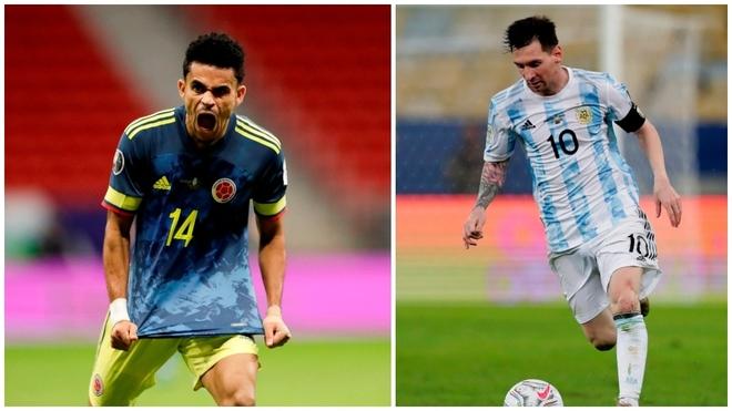 Luis Díaz y Messi goleadores de la Copa América